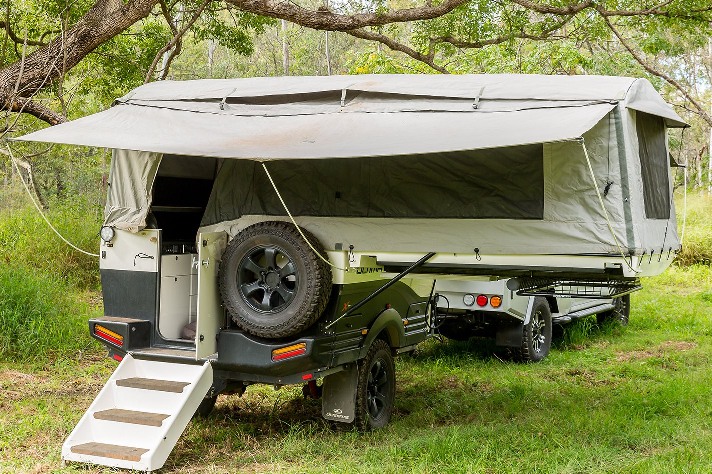 Custom Land Cruiser 200 Series Canopy