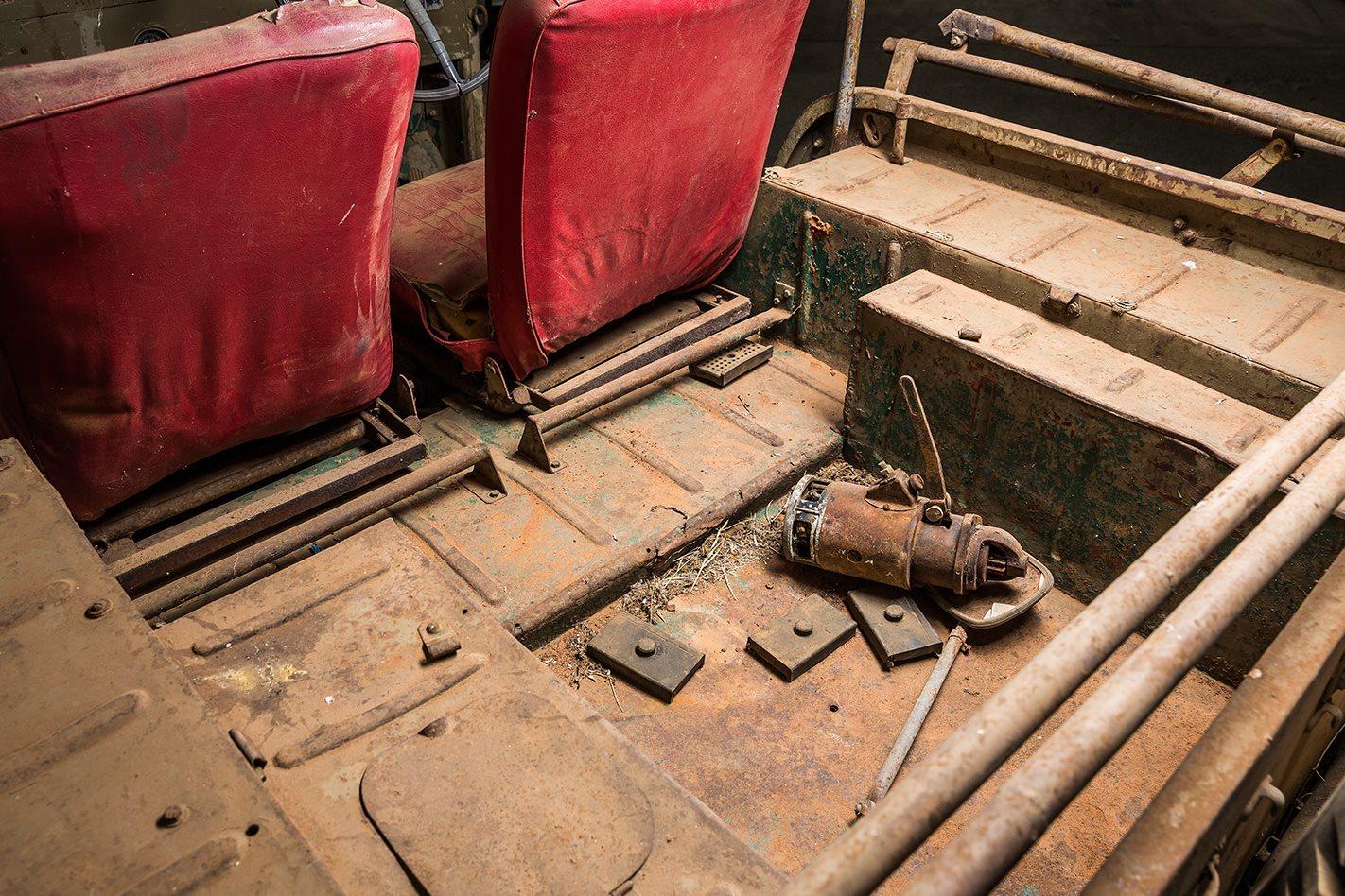 Toyota BJ FJ Land Cruiser boot