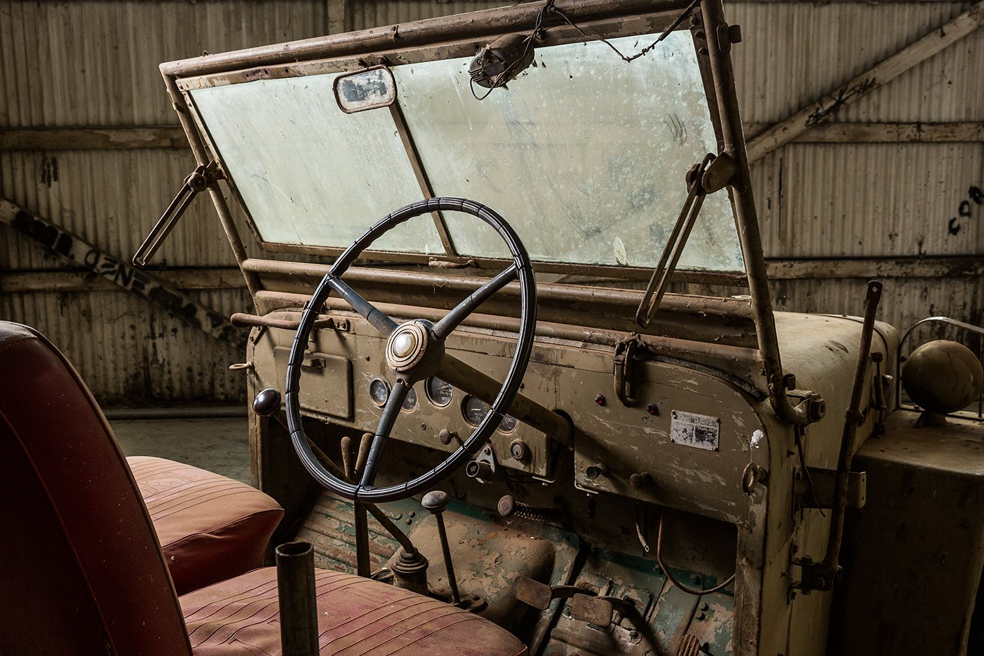 Toyota BJ FJ Land Cruiser interior