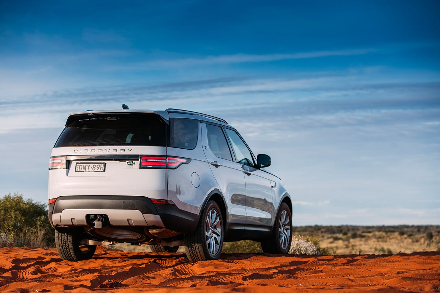 2017 Land Rover Discovery rear