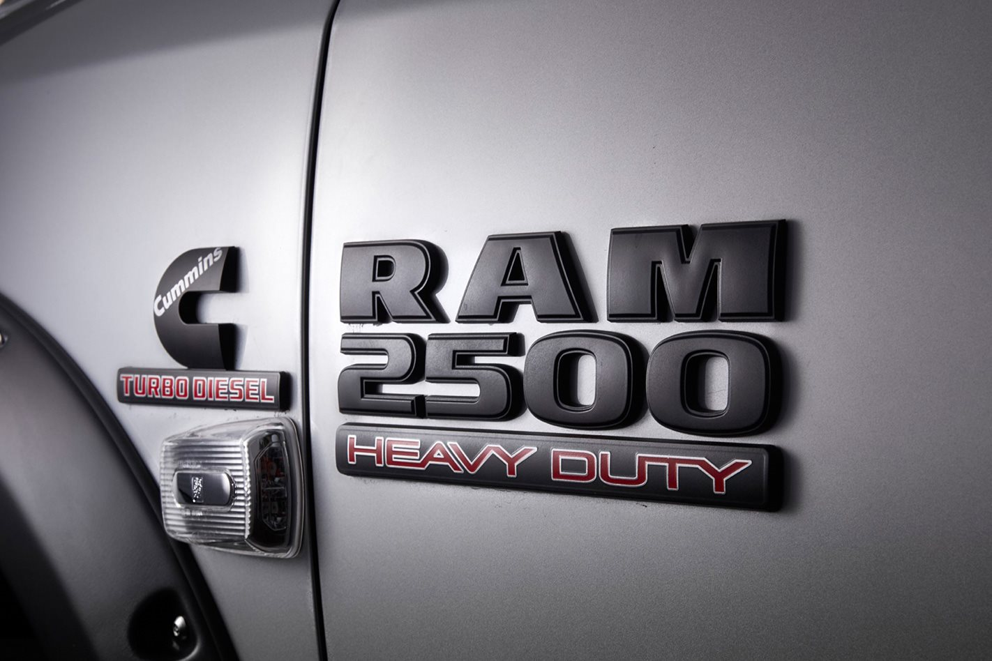 RAM 2500 Code Black badge
