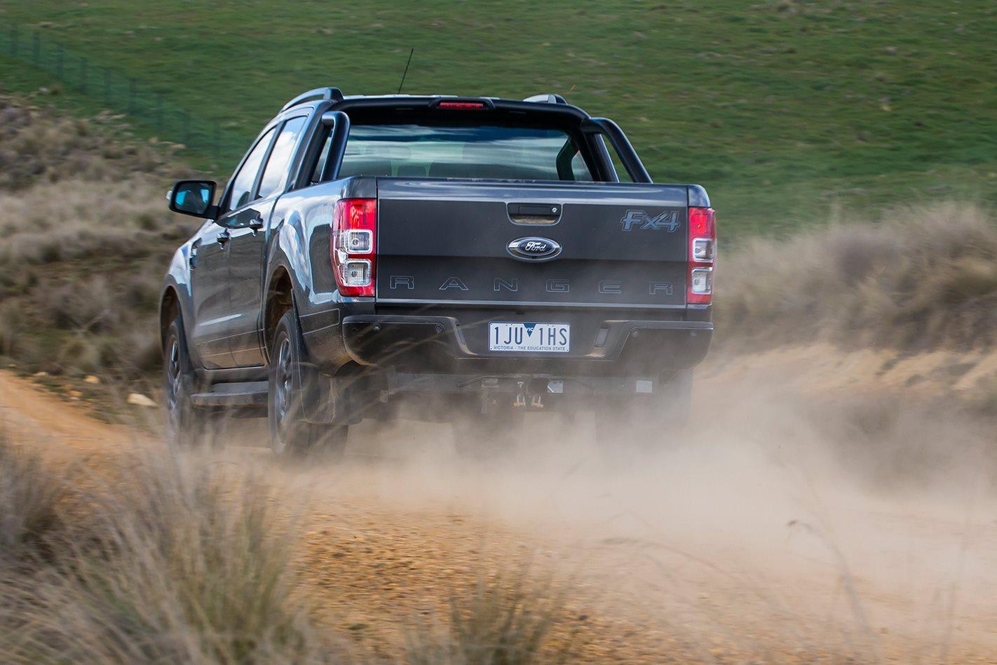 Ford Ranger FX4 rear