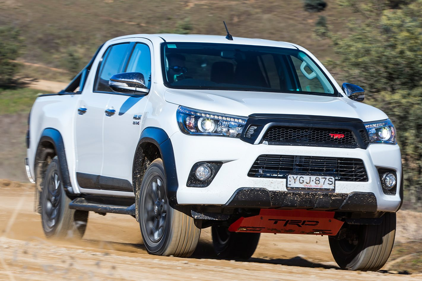 Toyota Hilux TRD front facing