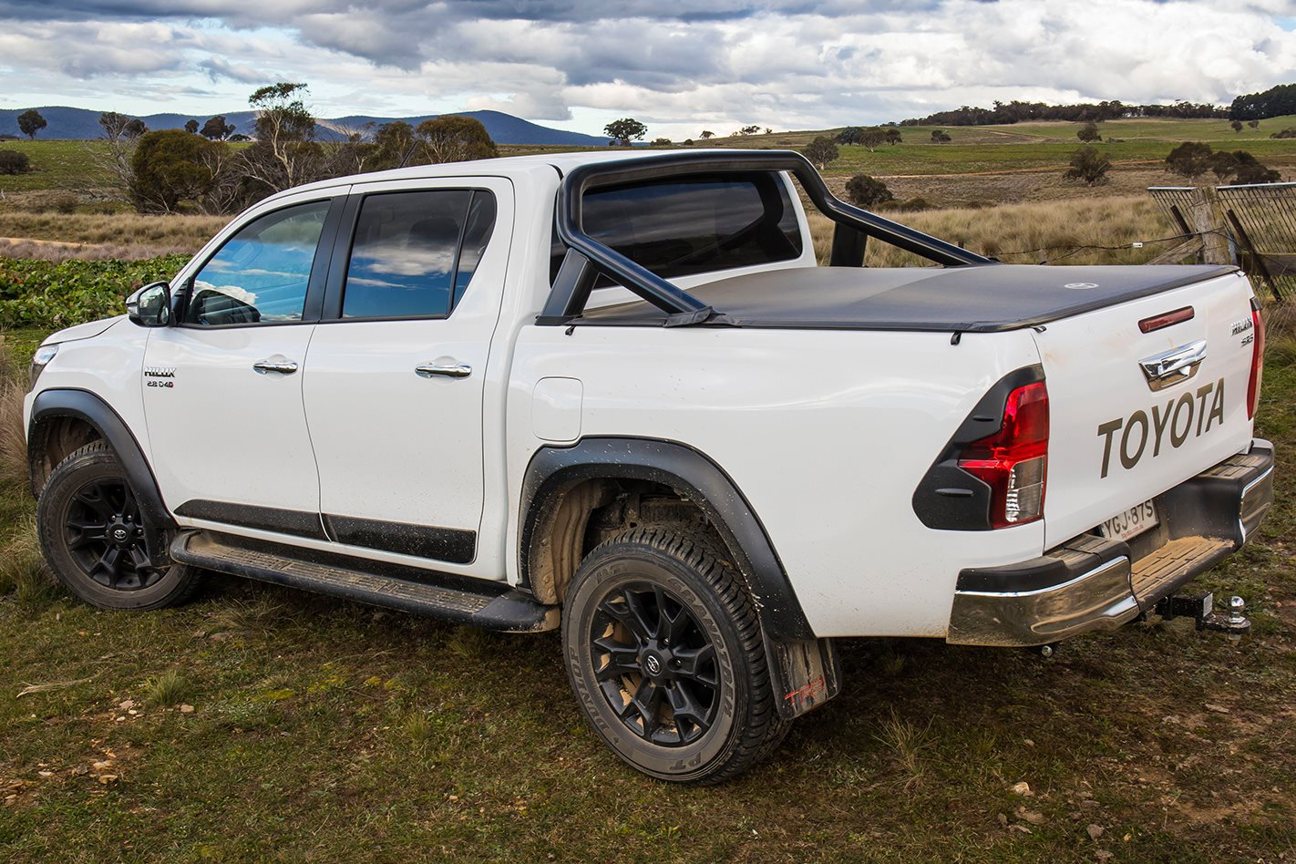 Toyota Hilux TRD rear