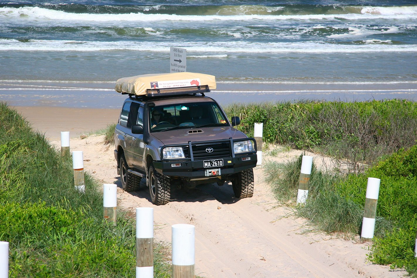 Toyota on Lennox Head