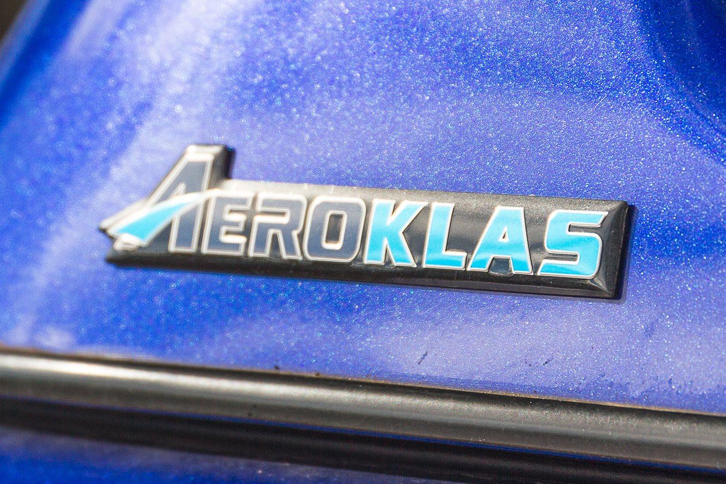 Aeroklas ABS canopy badge