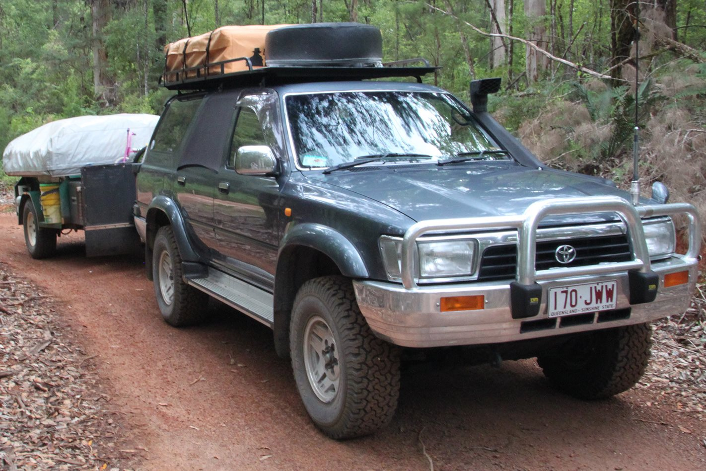 Toyota Land Cruiser in Warren National Park, WA