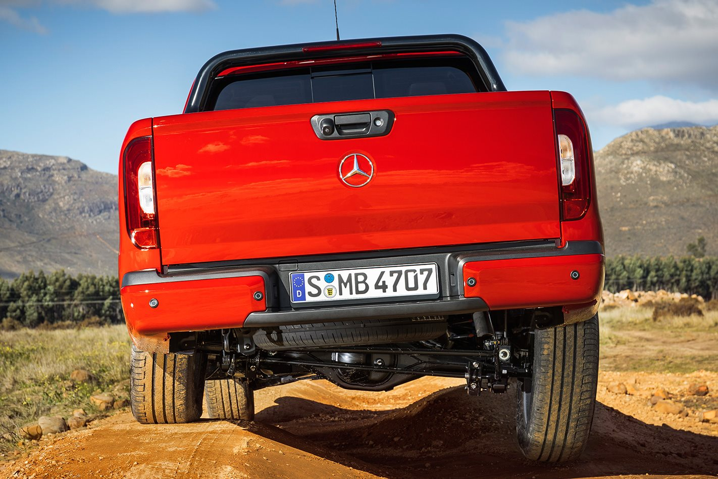Mercedes-Benz XClass rear