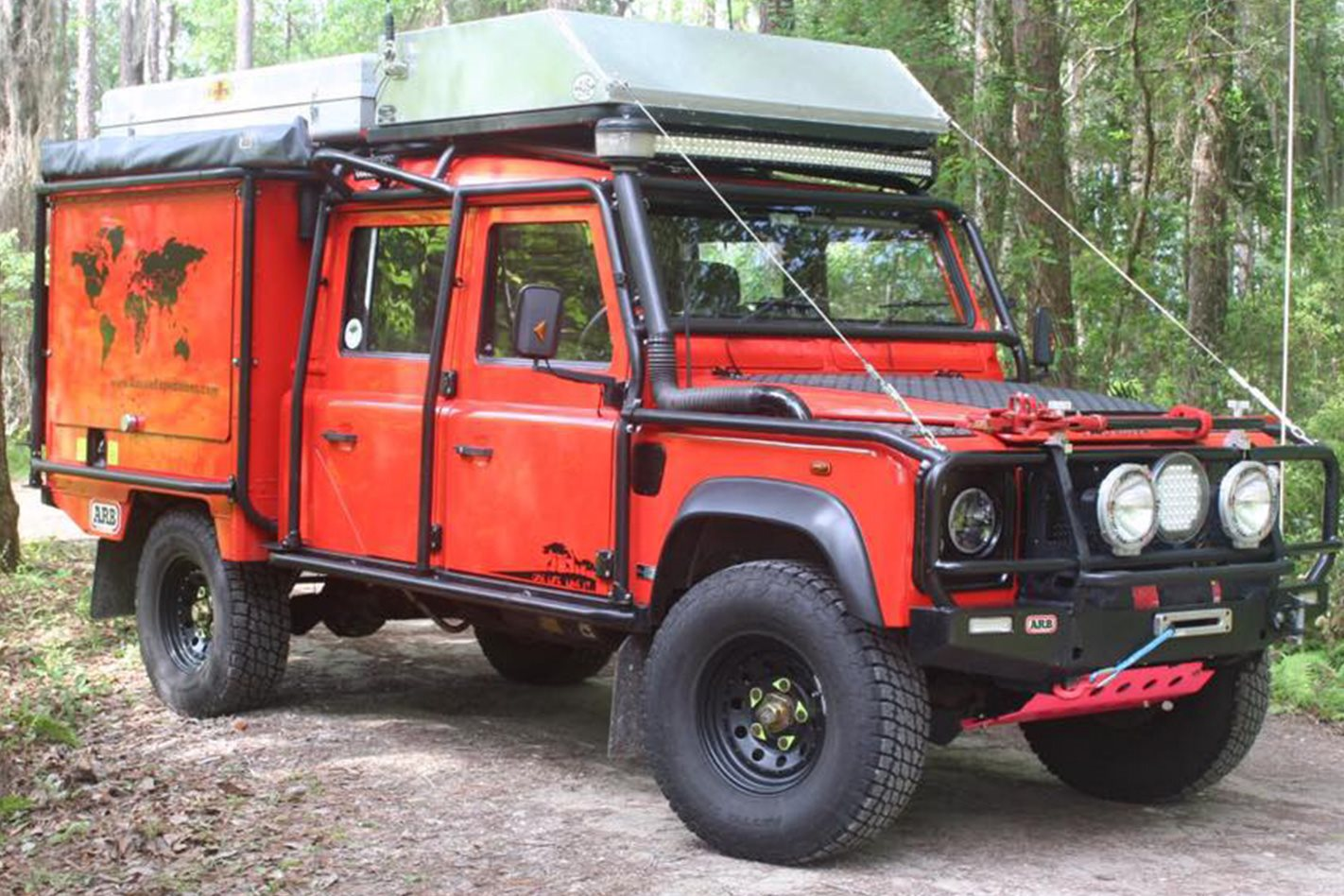 2006 LAND ROVER DEFENDER 130 TD5 – SHAYNE YOUNG