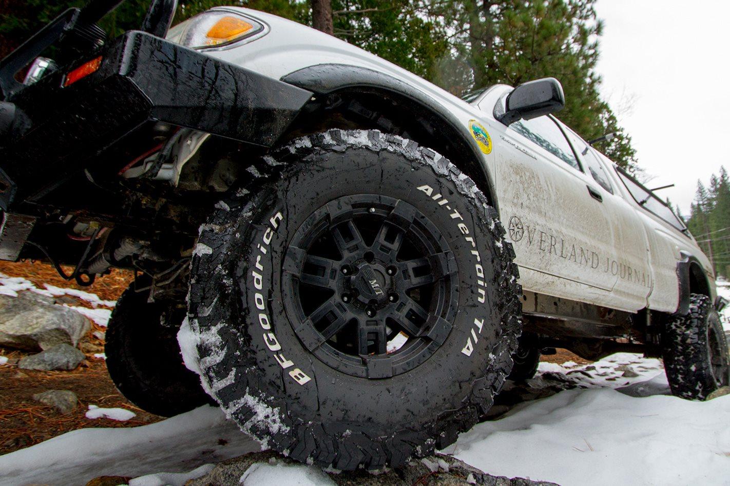 bfgoodrich all terrain ko2 tyres product test. Black Bedroom Furniture Sets. Home Design Ideas