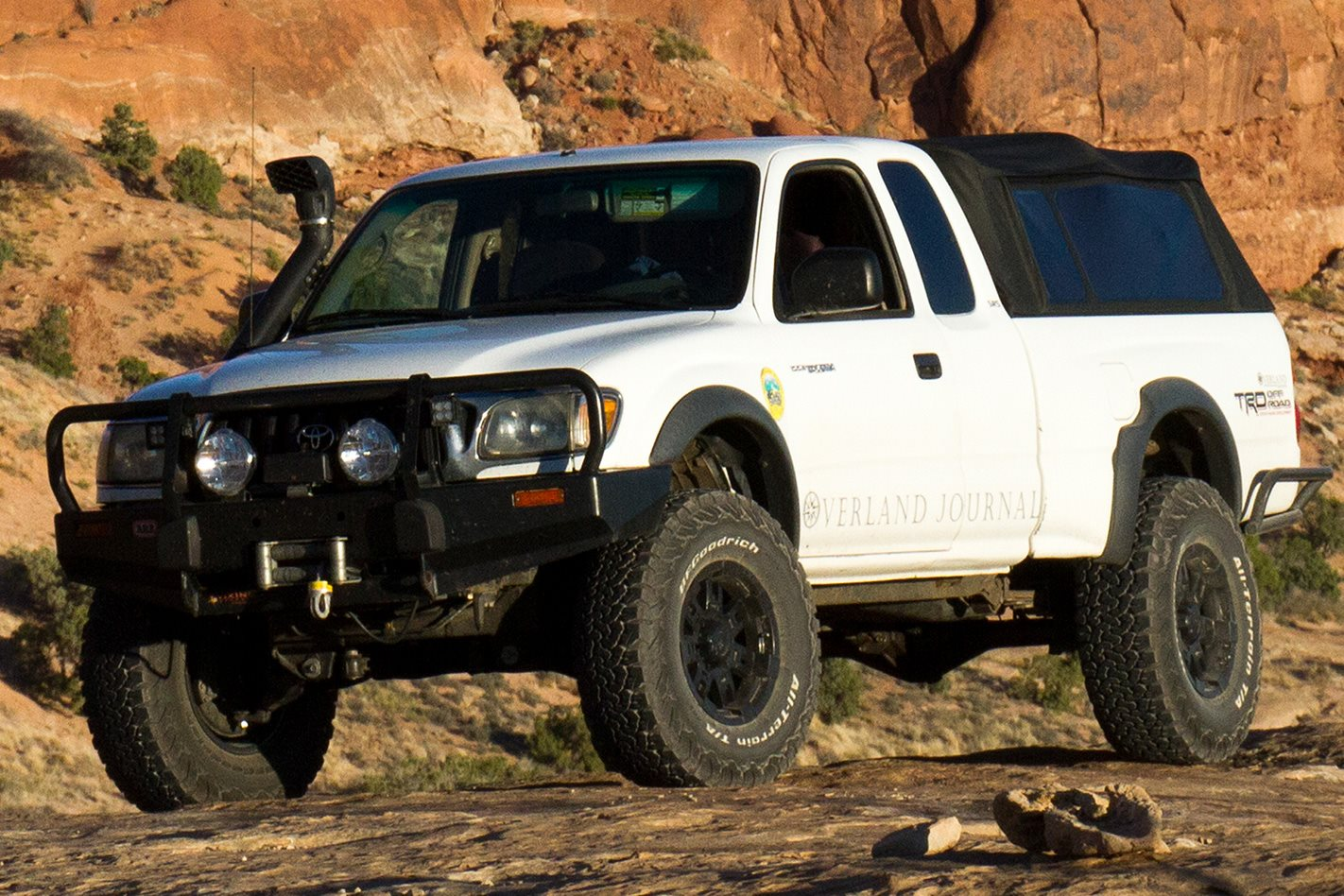 BFGoodrich All-Terrain KO2 tyres on a custom Toyota