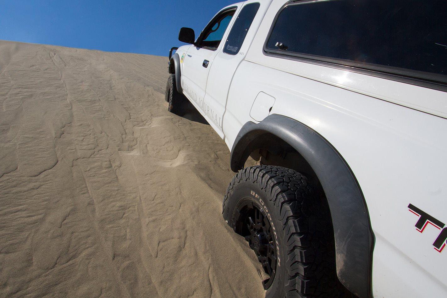 BFGoodrich All-Terrain KO2 tyres on sand