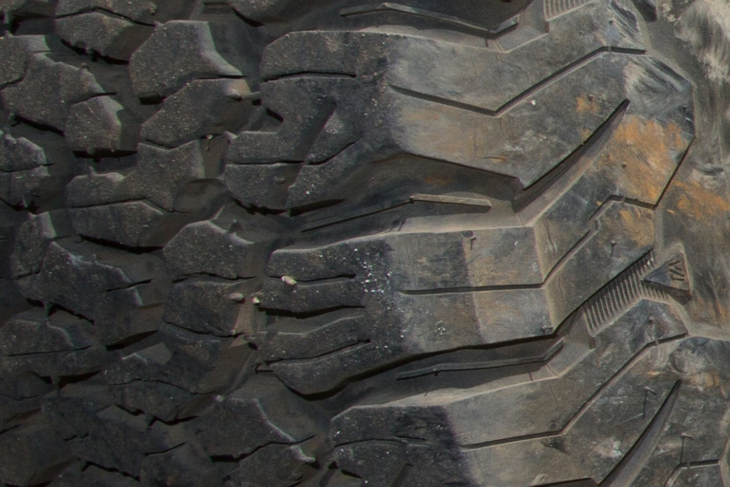 BFGoodrich All-Terrain KO2 tyres tread