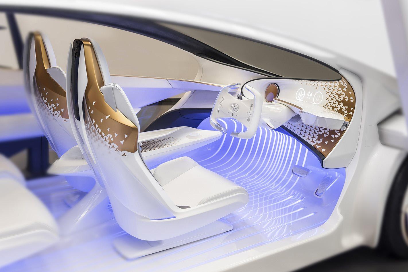 Driverless car model vehicle