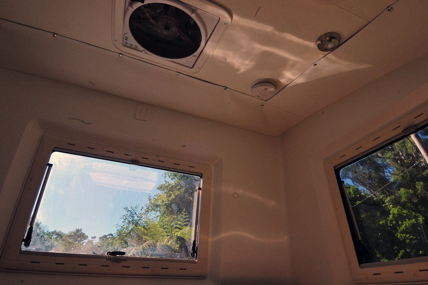 XP Camper ventilation