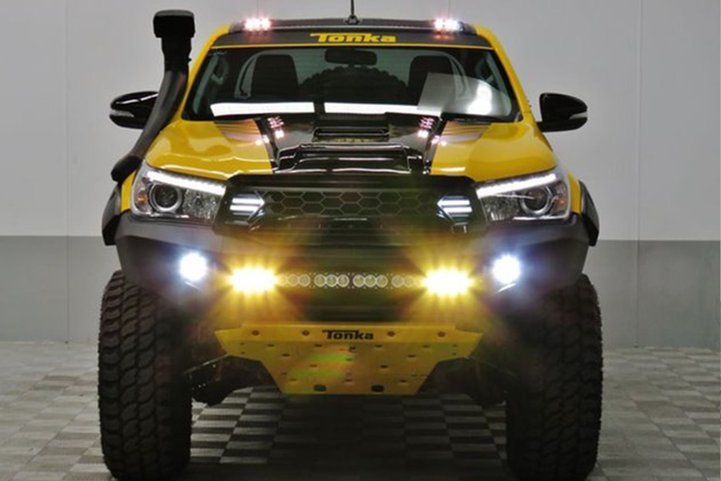 Toyota Hilux Tonka Concept front