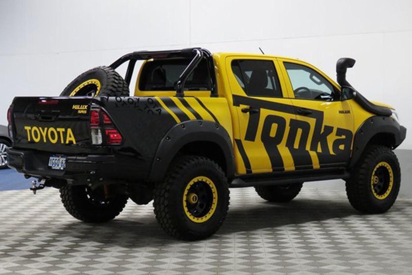 Toyota Hilux Tonka Concept side profile