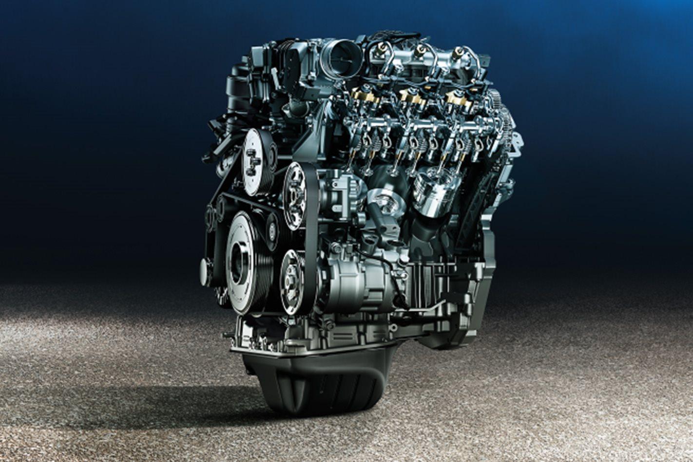 Volkswagen Amarok Sportline V6 engine