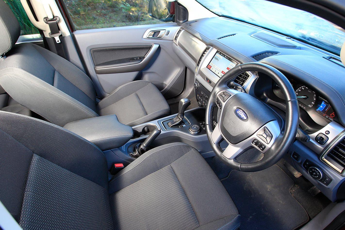 2017 Ford Everest Trend interior.jpg