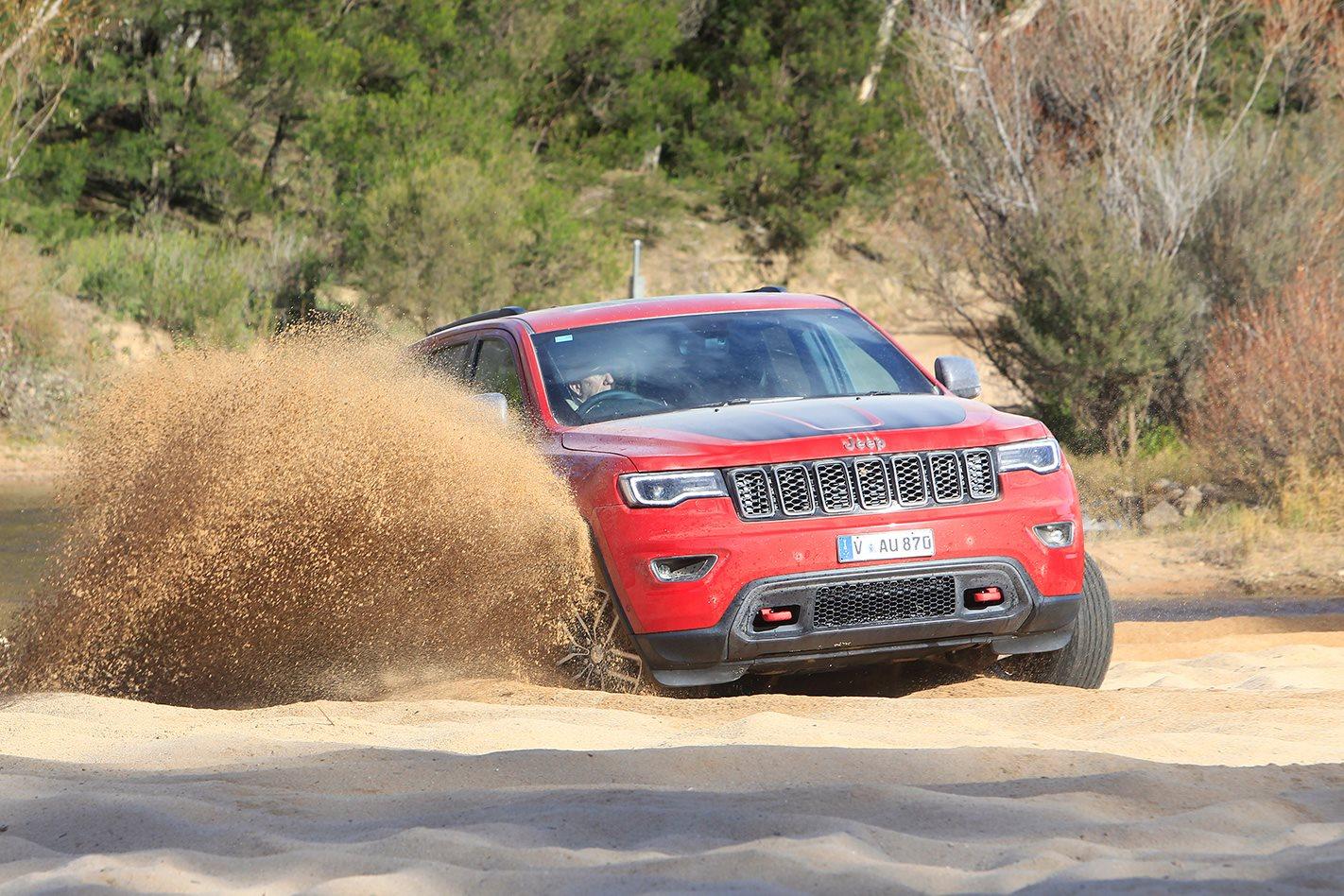 2017 Jeep Grand Cherokee Trailhawk driving on sand.jpg