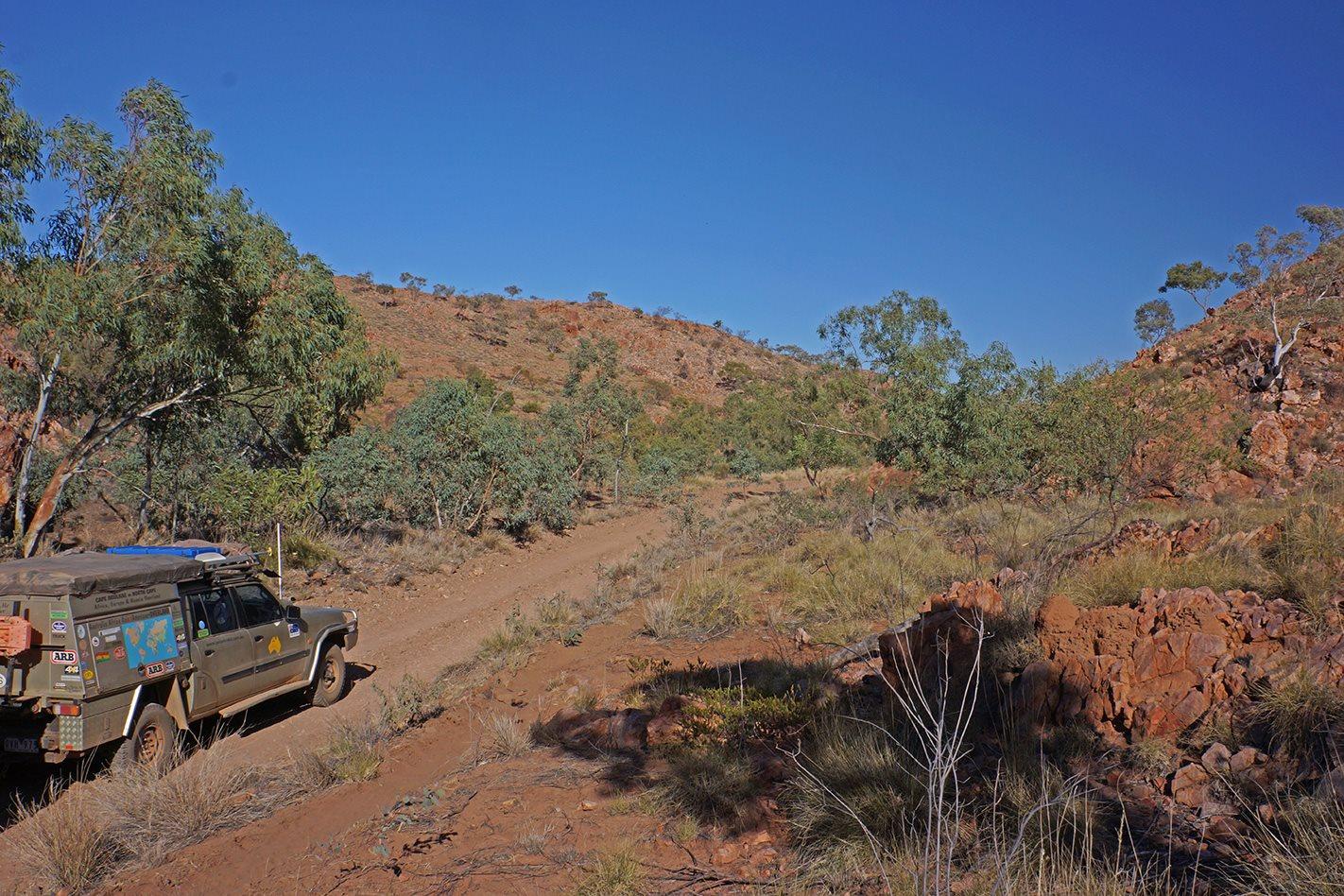 Davenport Ranges, NT 4WD tracks