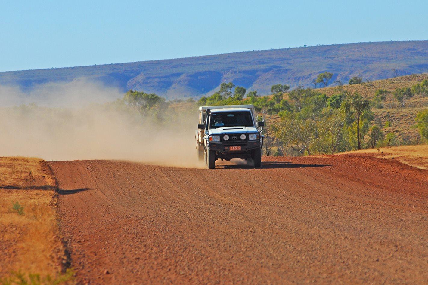 Davenport Ranges, NT gravel road