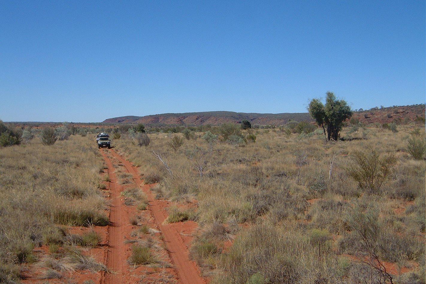 Owen Springs Reserve NT Redbank track