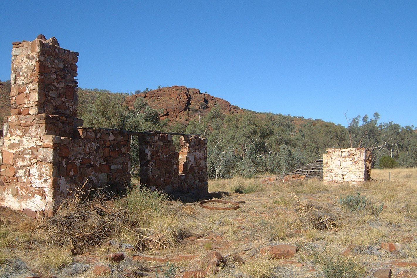 Owen Springs Reserve NT ruins