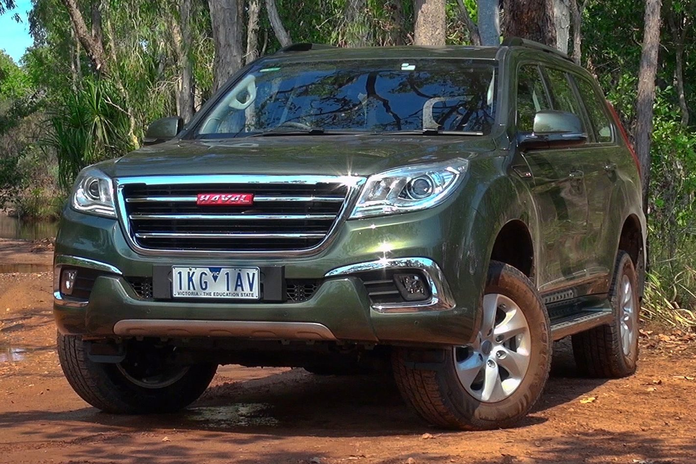 Haval H9 Ironman treatment
