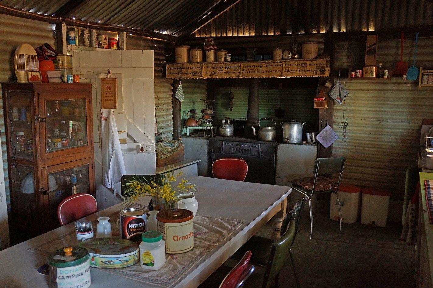 Old Andado Homestead NT kitchen