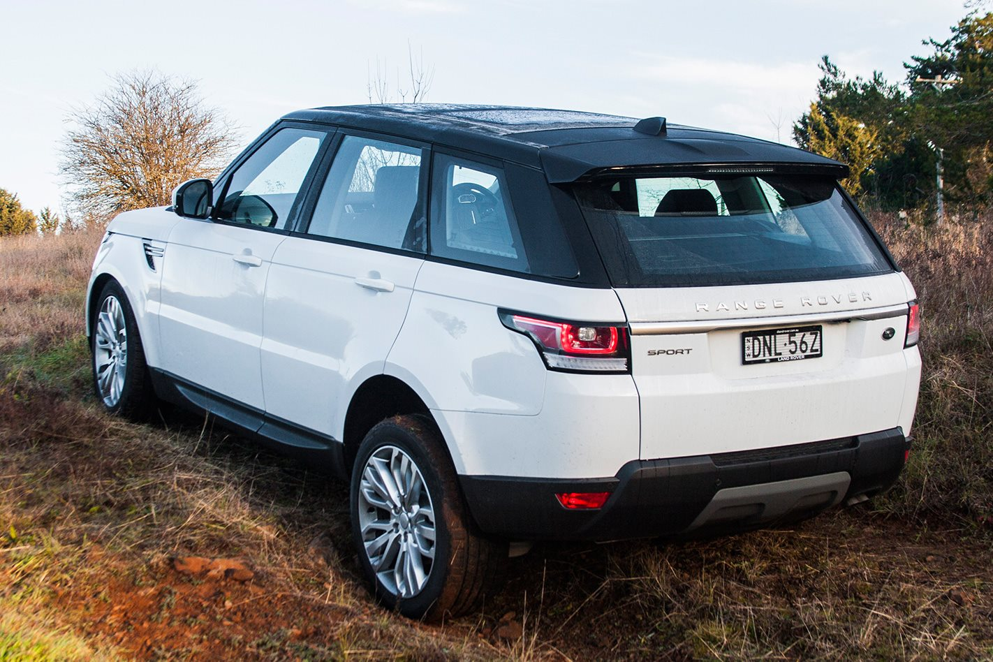 Range Rover Sport SD4 rear