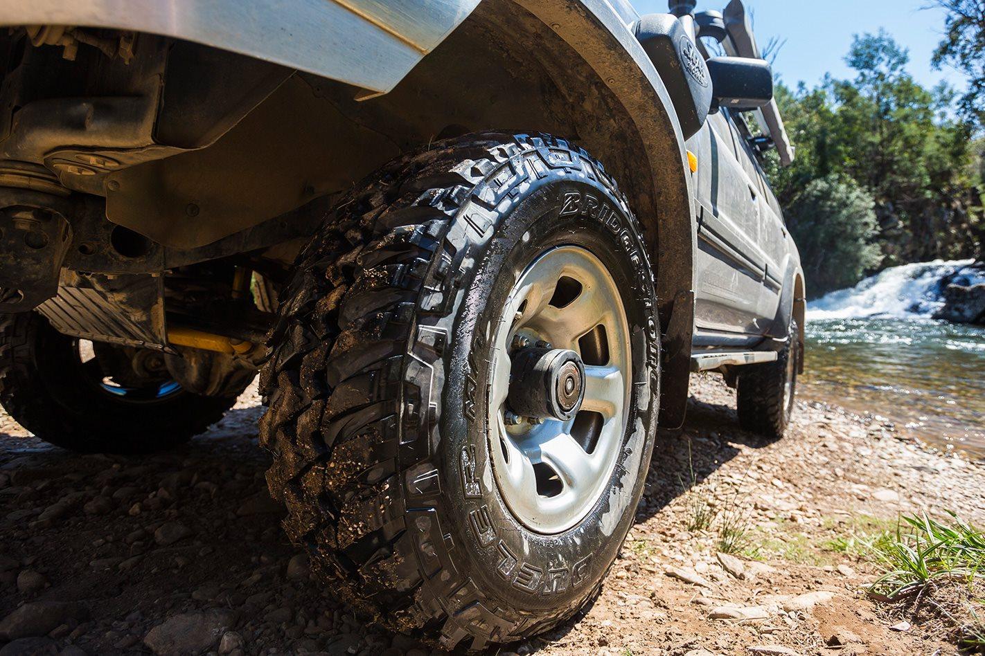 Bridgestone Dueler MT 694 tyres offroad