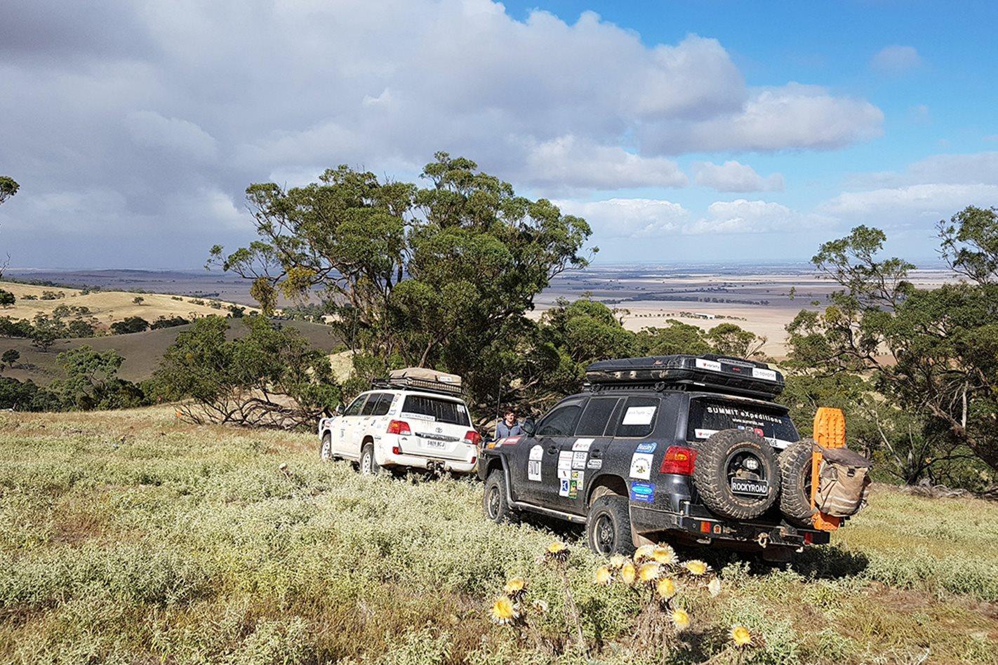 Volunteers Variety 4WD Bash Southern Flinders Range SA