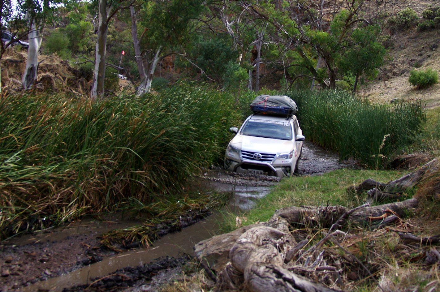 Offroading Variety 4WD Bash Southern Flinders Range SA