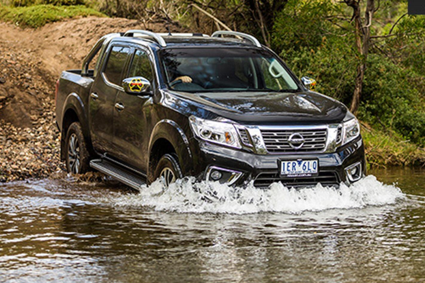 Nissan Navara offroad