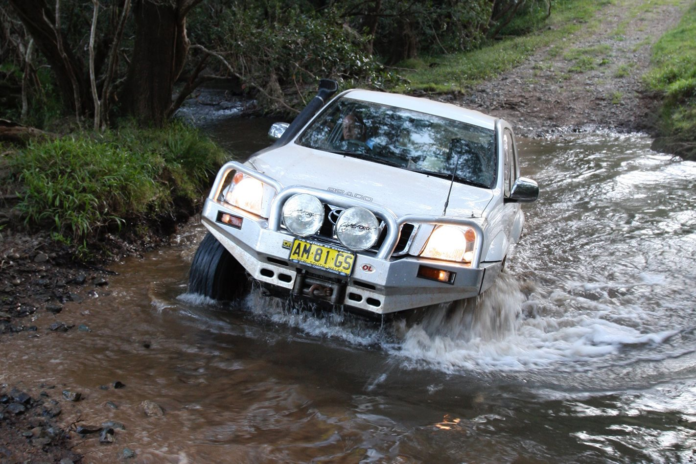 Aberfoyle Tableland Track water crossing