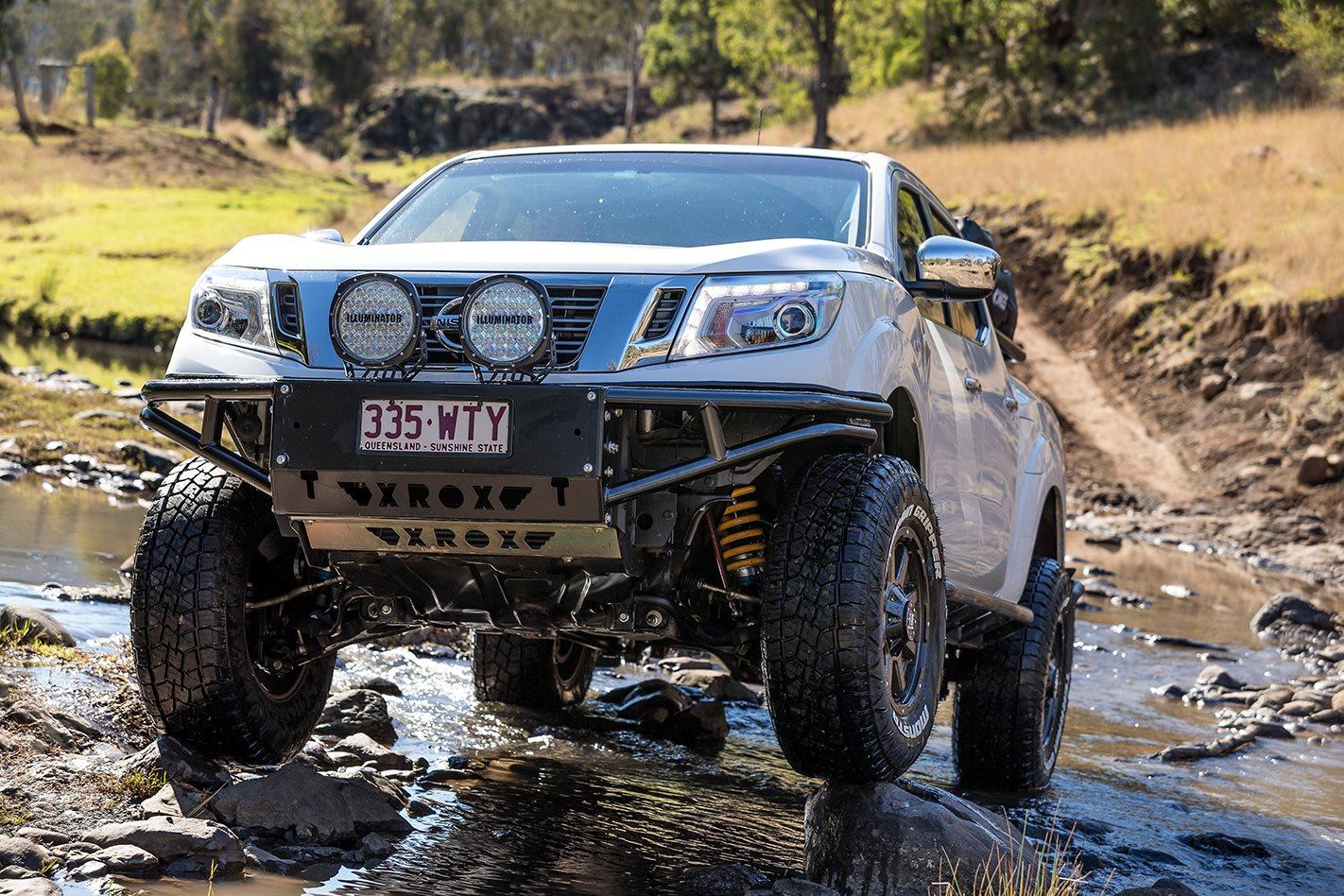 Nissan Frontier Review >> Custom Nissan NP300 Navara review