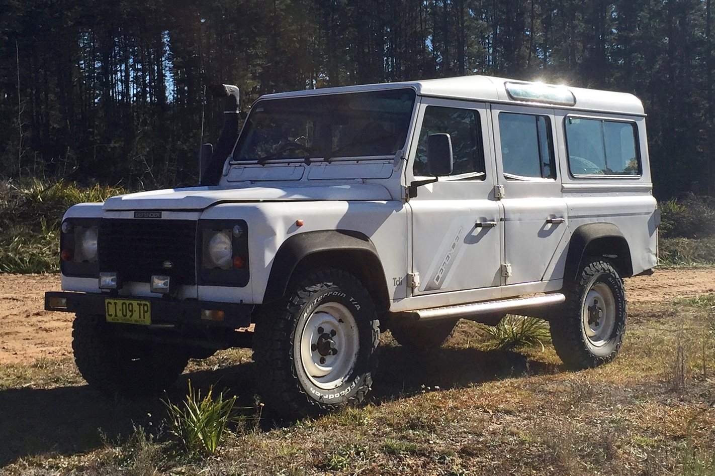 1994 land rover defender 4x4 shed 4x4 australia. Black Bedroom Furniture Sets. Home Design Ideas