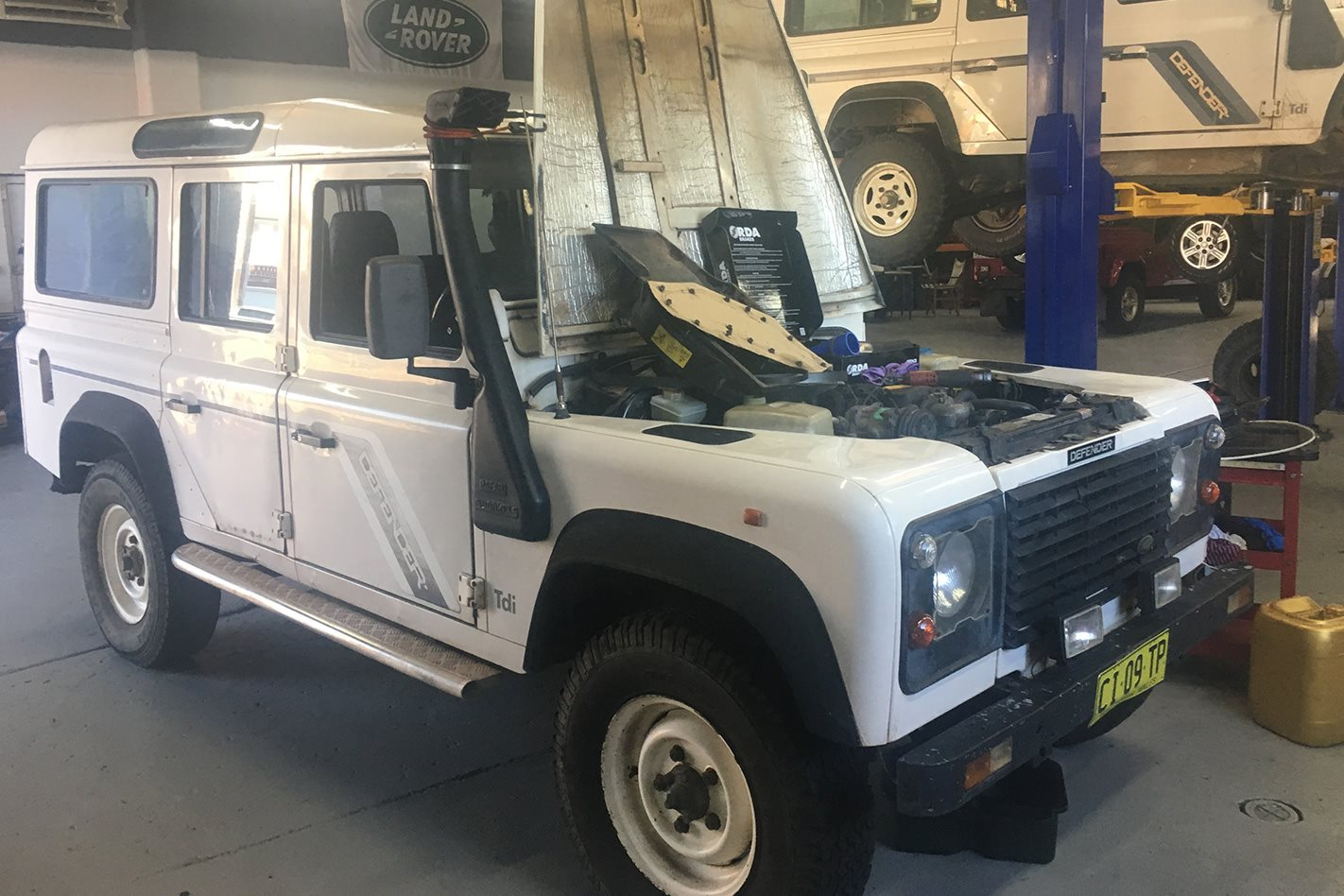 1994 Land Rover Defender modified