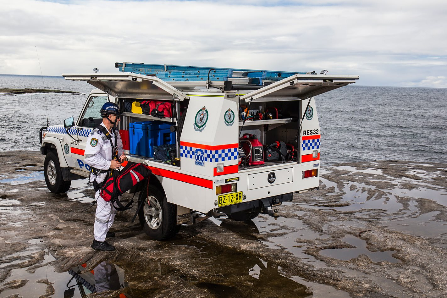NSW Police Squad HJ47 Cruiser rescue technology.jpg