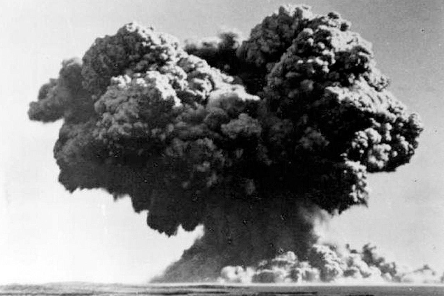 Operation Hurricane 1952 Trimouille Island