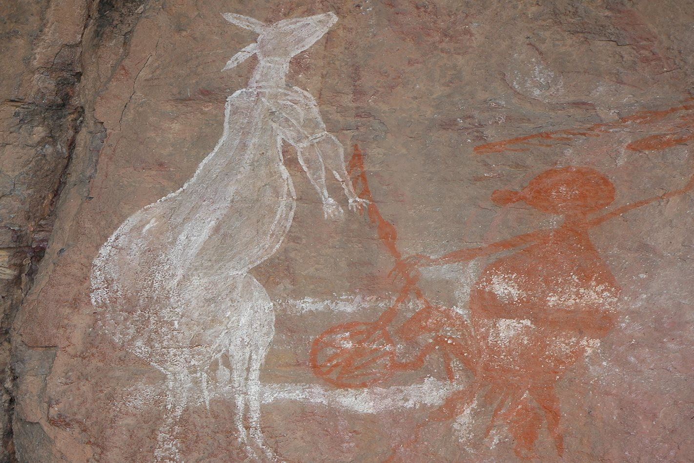 Kakadu Circuit NT rock art