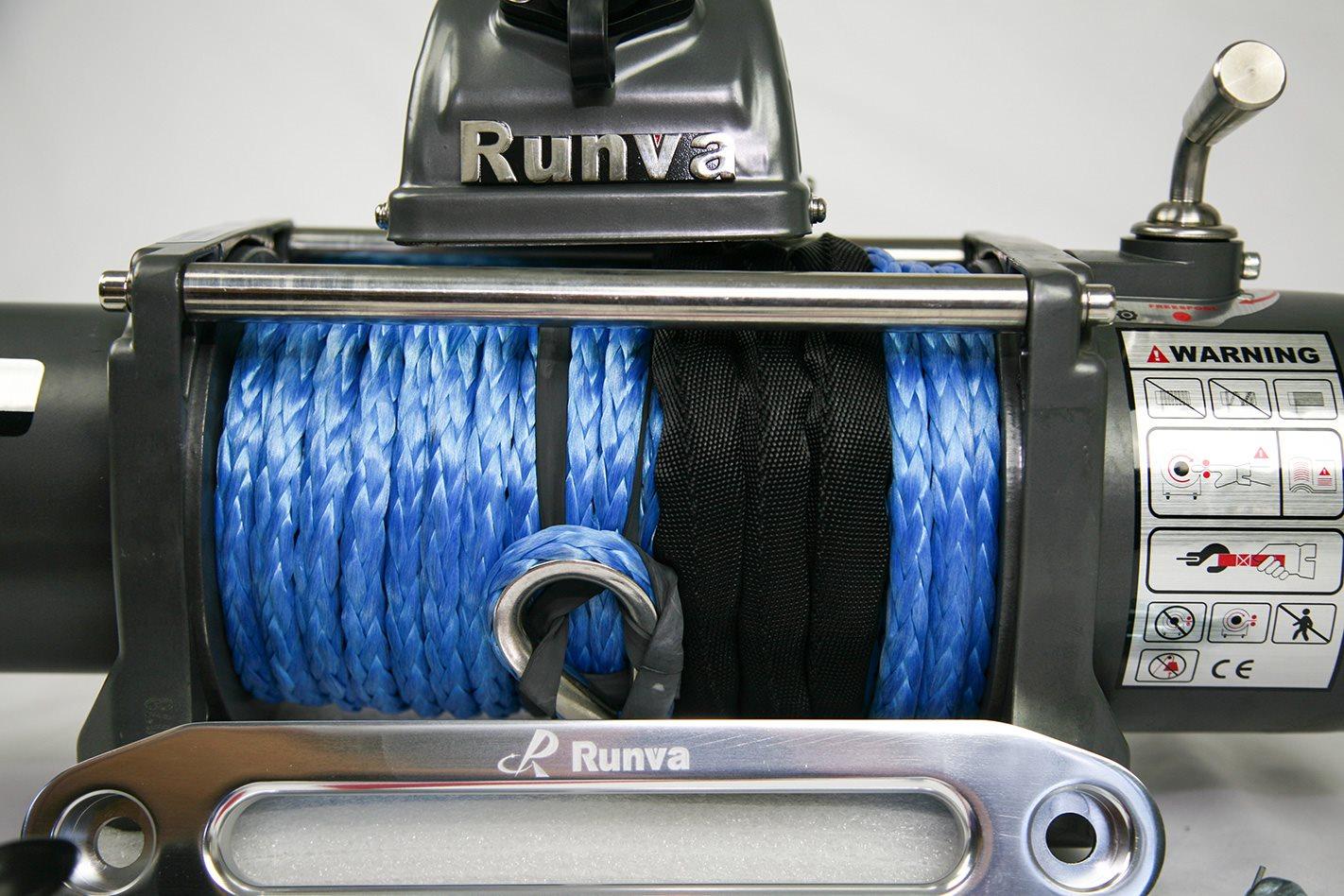 Runva EWX 9500-Q: 12-volt winch test