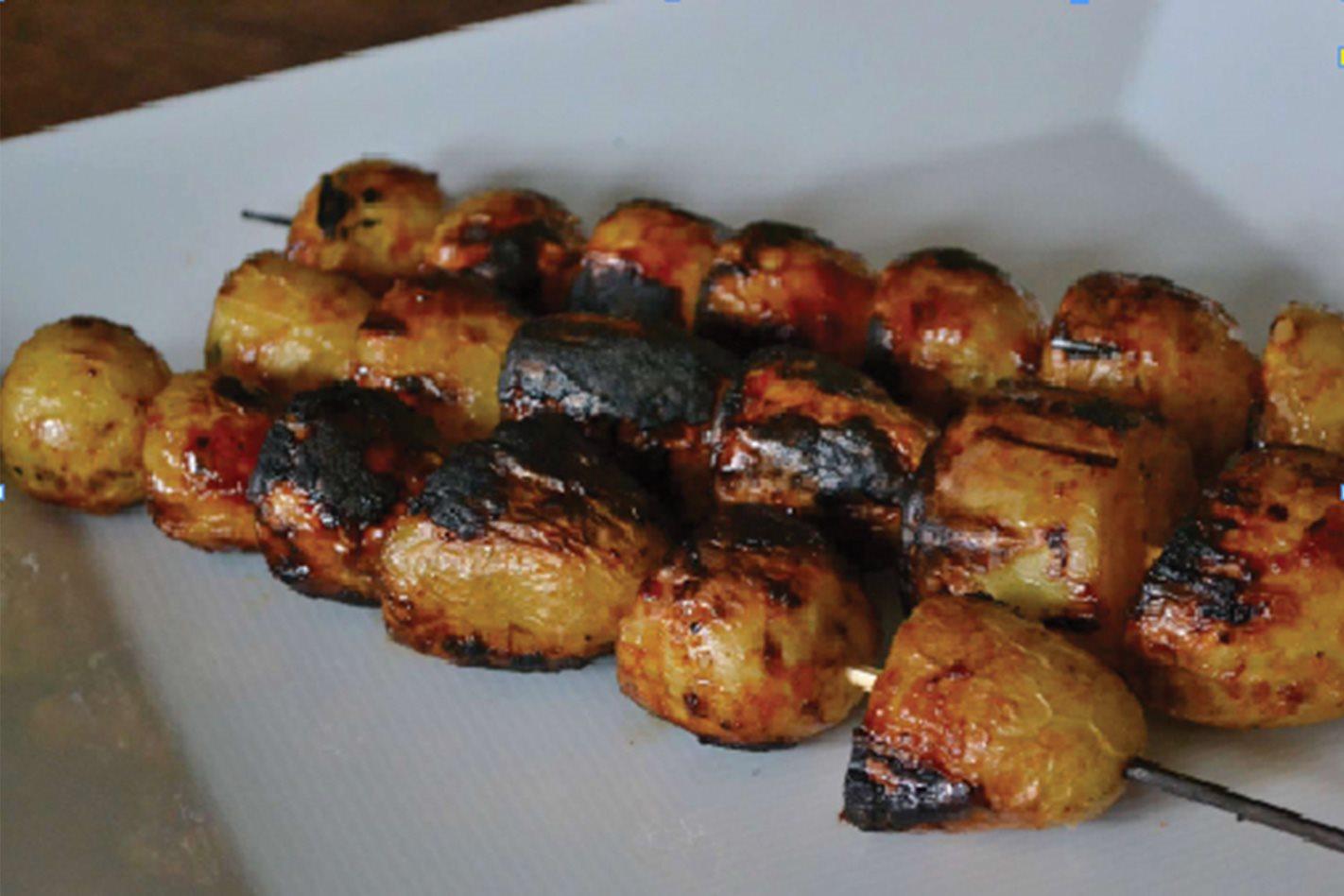 Potato Skewers