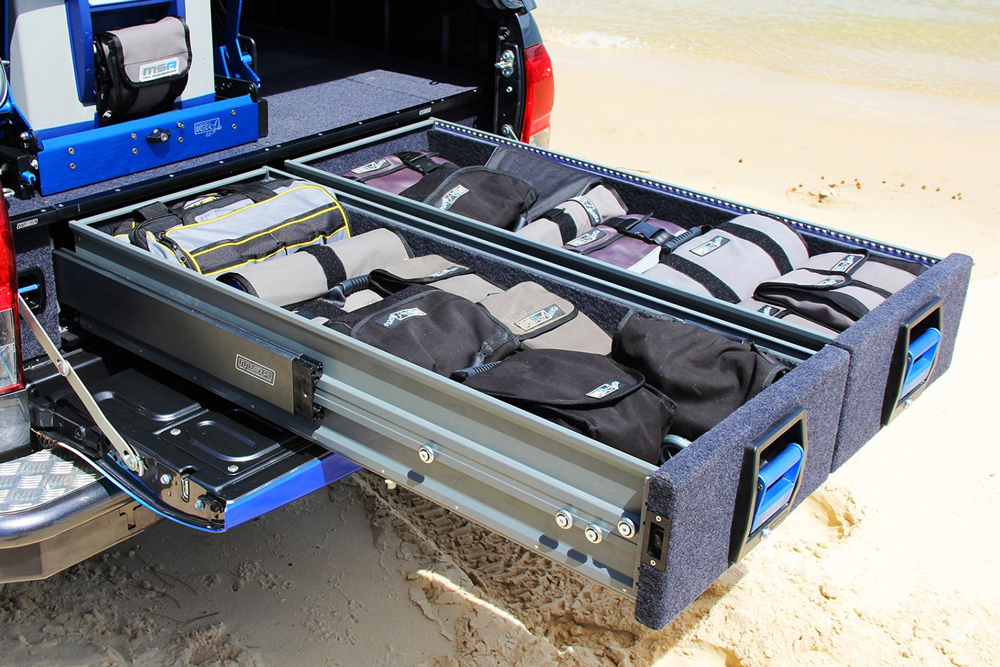 MSA 4X4 EXPLORER STORAGE DRAWER SYSTEM