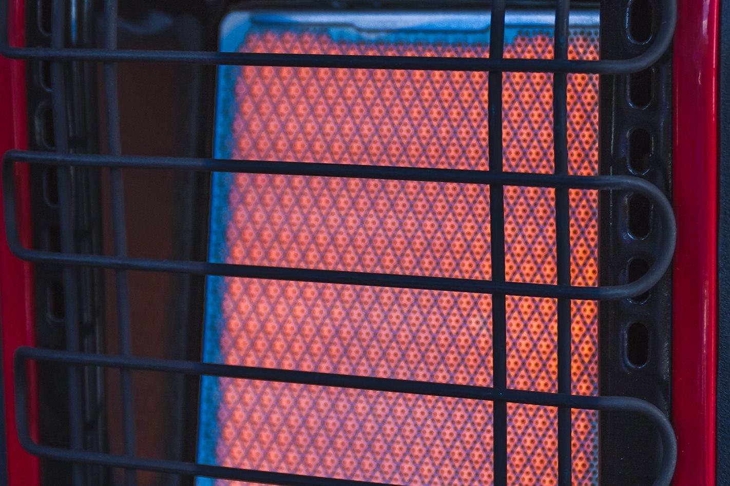 Mr Heater Gas Heater on