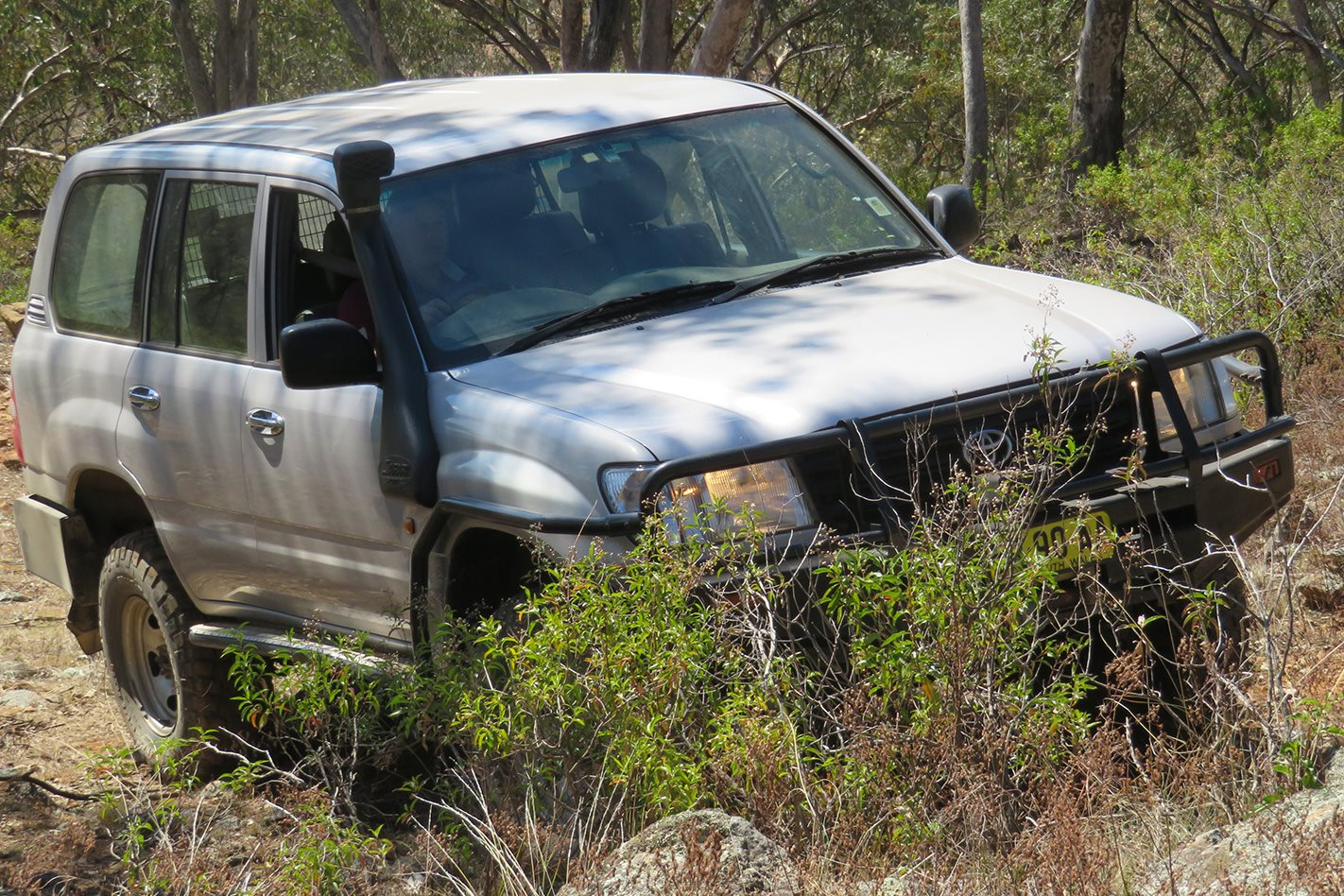 Toyota Land Cruiser Central West 4WD Park