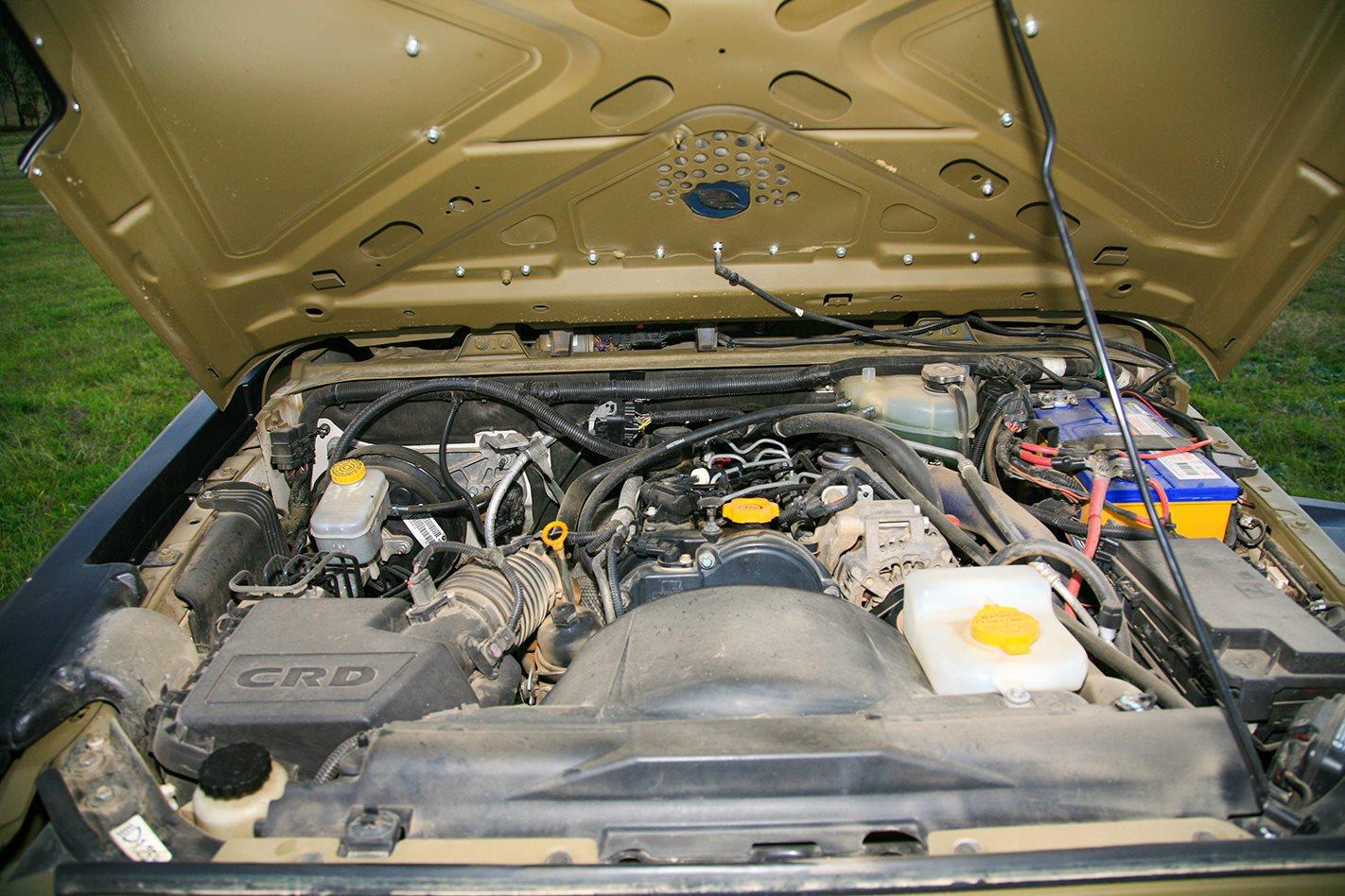 1960 Jeep JK Wrangler 715 replica engine