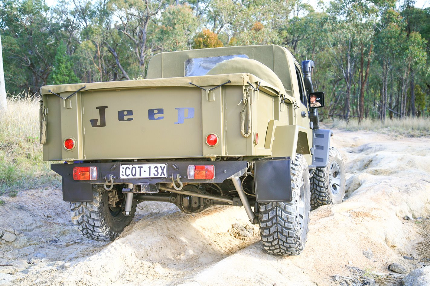 1960 Jeep JK Wrangler 715 replica mud guards
