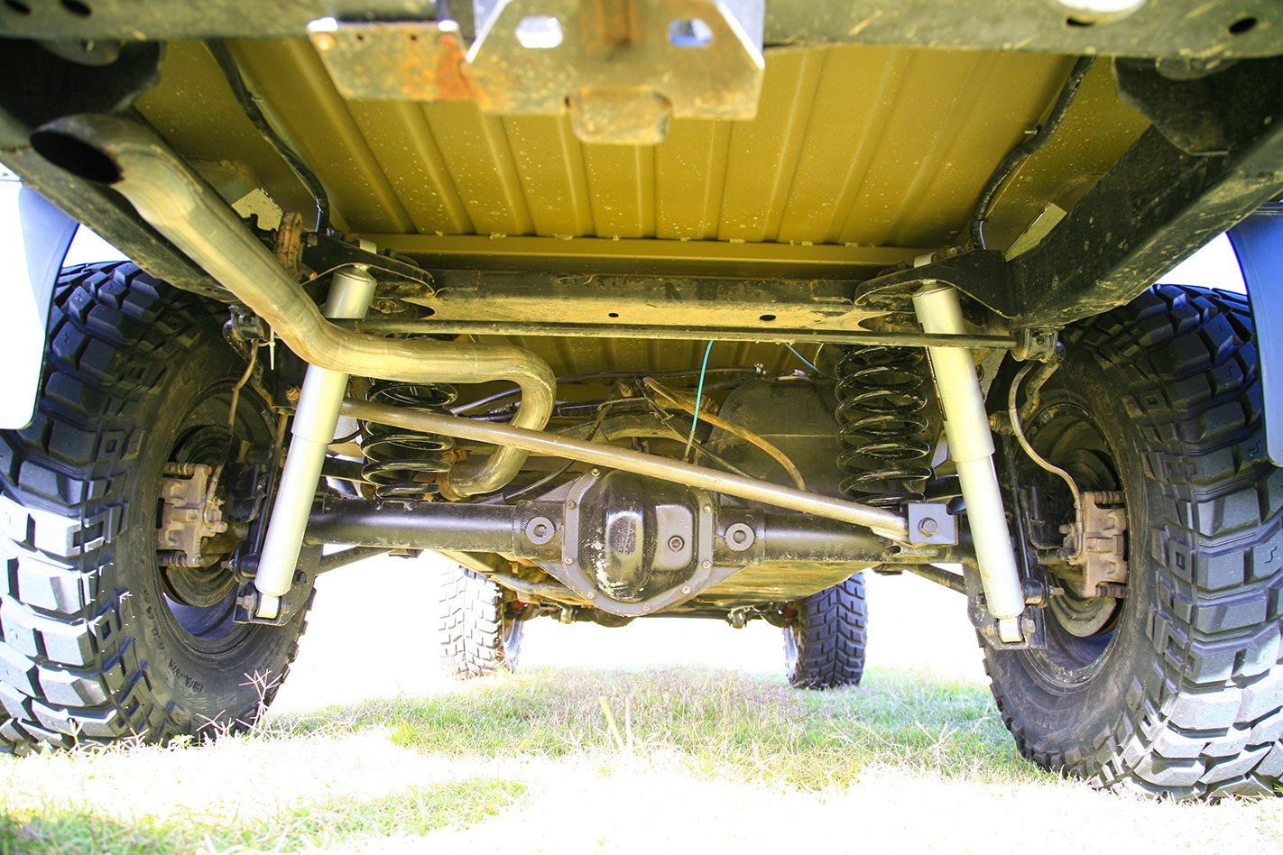 1960 Jeep JK Wrangler 715 replica undercarrage